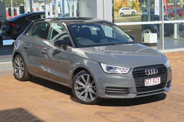 Discounted Demonstrator, Demo, Near New Audi A1 Sportback S tronic, Toowoomba, 2017 Audi A1 Sportback S tronic Hatchback