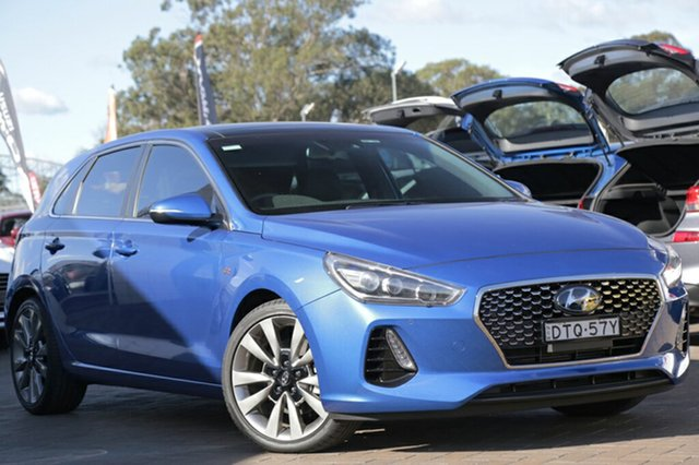 Discounted Demonstrator, Demo, Near New Hyundai i30 SR D-CT Premium, Southport, 2017 Hyundai i30 SR D-CT Premium Hatchback