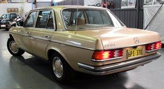 1983 Mercedes-Benz 280E Sedan.