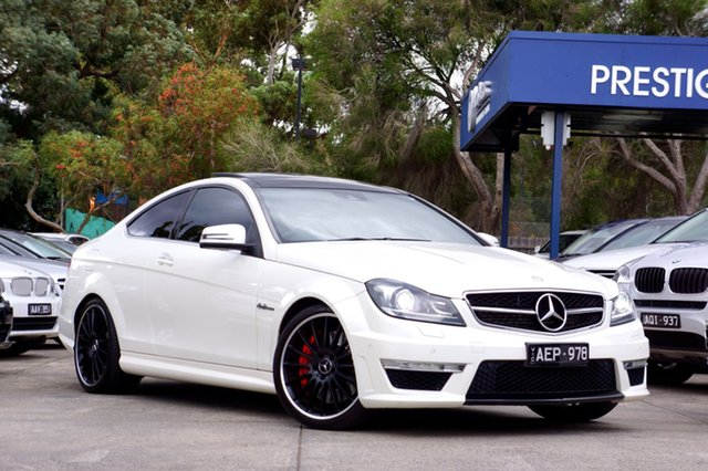 Used Mercedes-Benz C63 AMG SPEEDSHIFT MCT Performance Package, Balwyn, 2012 Mercedes-Benz C63 AMG SPEEDSHIFT MCT Performance Package Coupe