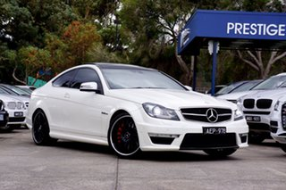 2012 Mercedes-Benz C63 AMG SPEEDSHIFT MCT Performance Package Coupe.