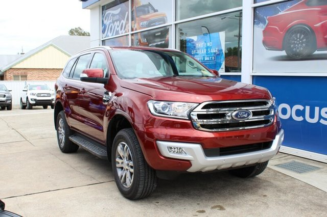 New Ford Everest Trend 4WD, Rutherford, 2018 Ford Everest Trend 4WD Wagon