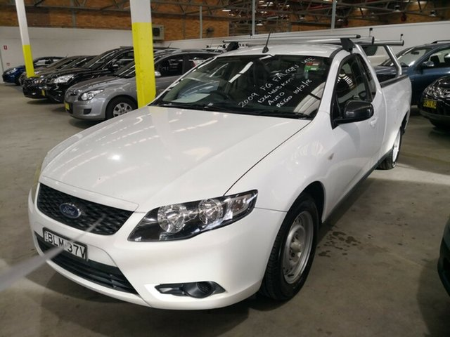 Used Ford Falcon Ute Super Cab, Cardiff, 2009 Ford Falcon Ute Super Cab Utility