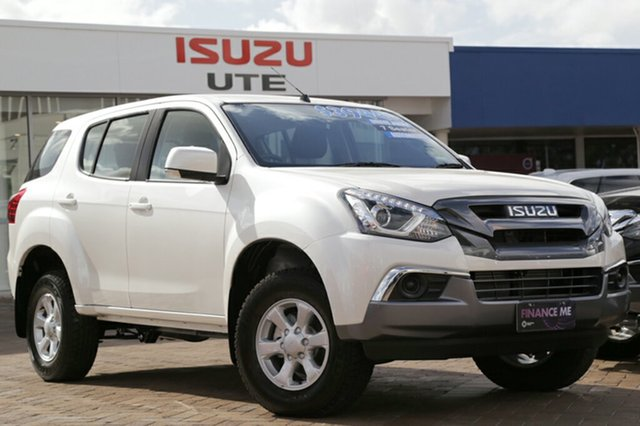 Discounted Demonstrator, Demo, Near New Isuzu MU-X LS-T Rev-Tronic, Warwick Farm, 2018 Isuzu MU-X LS-T Rev-Tronic Wagon