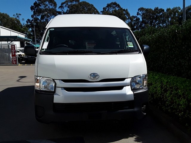 Used Toyota Hiace Commuter High Roof S, Acacia Ridge, 2015 Toyota Hiace Commuter High Roof S TRH223R MY14 Bus