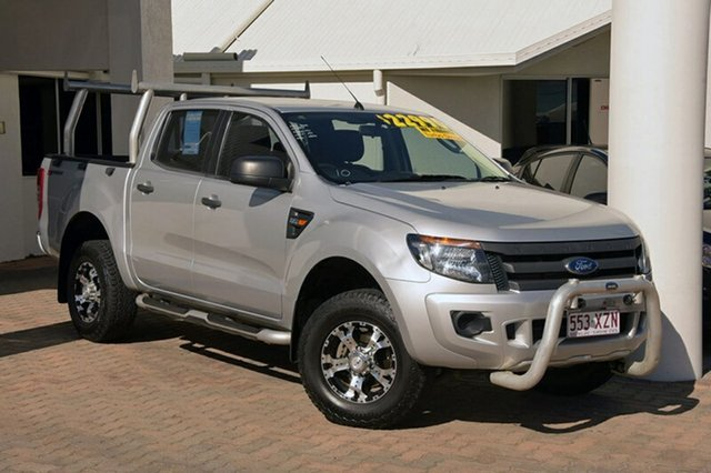 Discounted Used Ford Ranger XL Double Cab 4x2 Hi-Rider, Southport, 2014 Ford Ranger XL Double Cab 4x2 Hi-Rider Utility