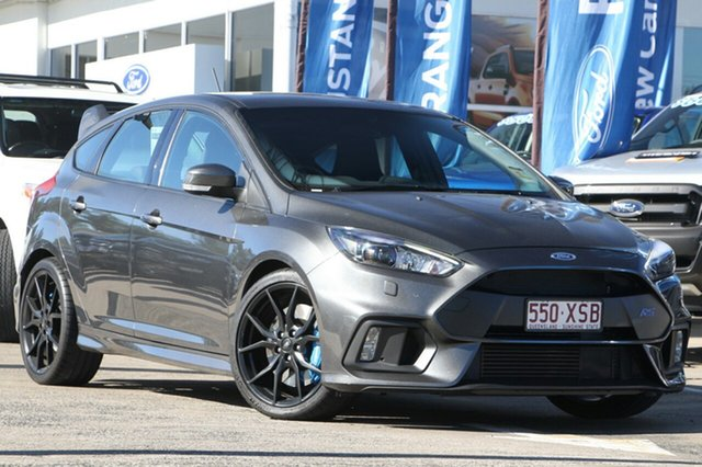 Demonstrator, Demo, Near New Ford Focus RS AWD, Beaudesert, 2017 Ford Focus RS AWD Hatchback