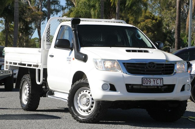Used Toyota Hilux SR, Beaudesert, 2014 Toyota Hilux SR Cab Chassis