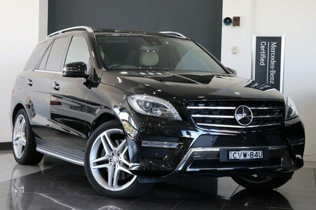 Demonstrator, Demo, Near New Mercedes-Benz ML500 7G-Tronic +, Mosman, 2014 Mercedes-Benz ML500 7G-Tronic + Wagon