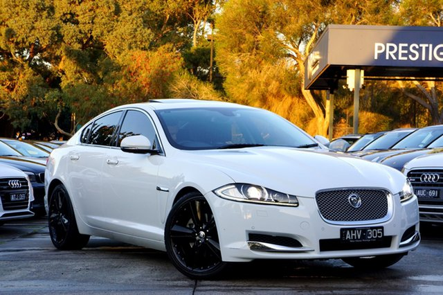 Used Jaguar XF Premium Luxury, Balwyn, 2012 Jaguar XF Premium Luxury Sedan