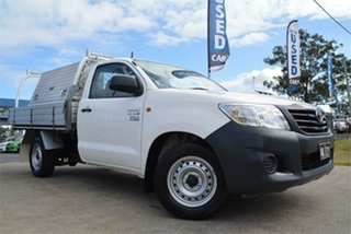2011 Toyota Hilux Workmate Cab Chassis.