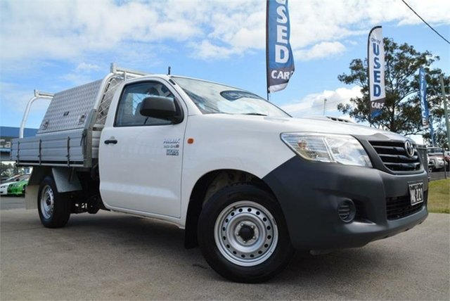 Used Toyota Hilux Workmate, Mulgrave, 2011 Toyota Hilux Workmate Cab Chassis