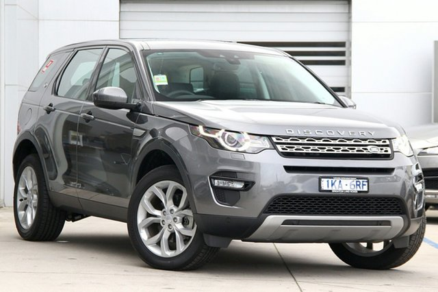 Demonstrator, Demo, Near New Land Rover Discovery Sport TD4 132kW HSE, Gardenvale, 2017 Land Rover Discovery Sport TD4 132kW HSE Wagon