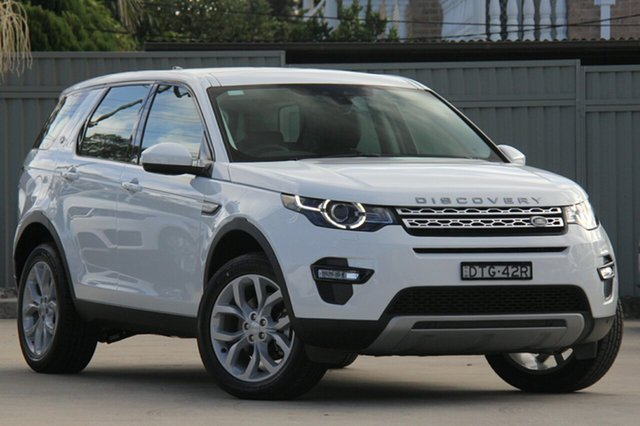 Demonstrator, Demo, Near New Land Rover Discovery Sport TD4 110kW HSE, Blakehurst, 2017 Land Rover Discovery Sport TD4 110kW HSE Wagon