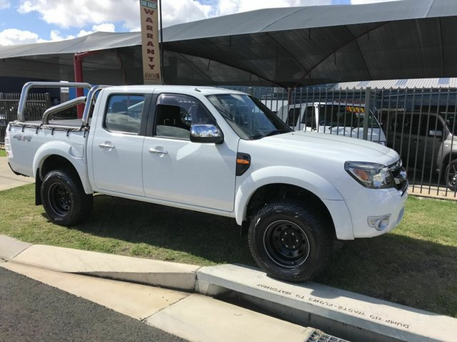 Used Ford Ranger XLT (4x4), Toowoomba, 2010 Ford Ranger XLT (4x4) Dual Cab Pick-up