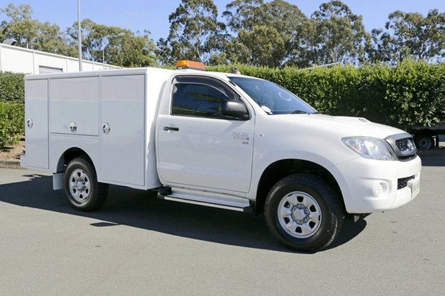 Used Toyota Hilux SR, Acacia Ridge, 2011 Toyota Hilux SR KUN26R MY10 Cab Chassis