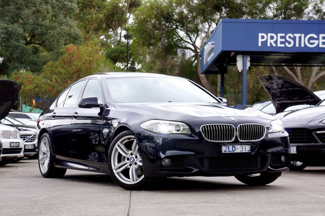 Used BMW 528I Steptronic, Balwyn, 2013 BMW 528I Steptronic Sedan