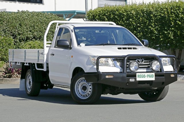 Used Toyota Hilux Workmate, Acacia Ridge, 2013 Toyota Hilux Workmate KUN16R MY12 Cab Chassis