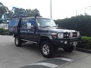 Used Toyota Landcruiser GXL Double Cab, Acacia Ridge, 2016 Toyota Landcruiser GXL Double Cab VDJ79R Cab Chassis
