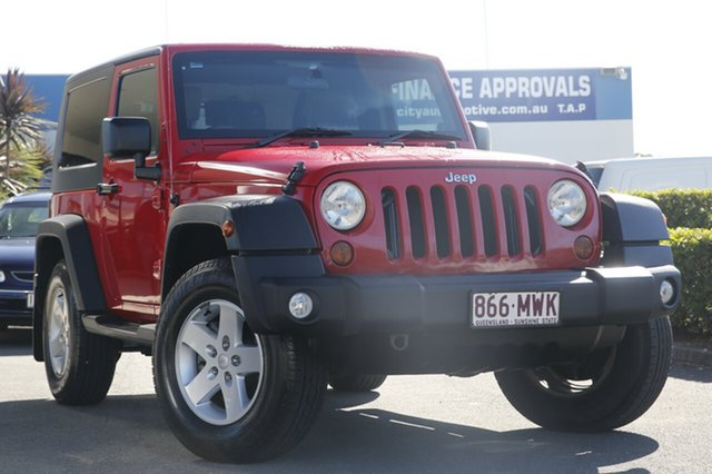 Used Jeep Wrangler Sport, Toowong, 2010 Jeep Wrangler Sport Softtop