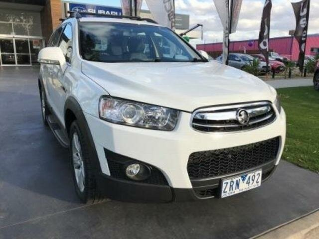 Used Holden Captiva 7 CX (4x4), Wangaratta, 2012 Holden Captiva 7 CX (4x4) Wagon