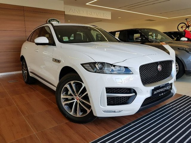 Demonstrator, Demo, Near New Jaguar F-PACE 20d AWD R-Sport, Cairns, 2017 Jaguar F-PACE 20d AWD R-Sport Wagon