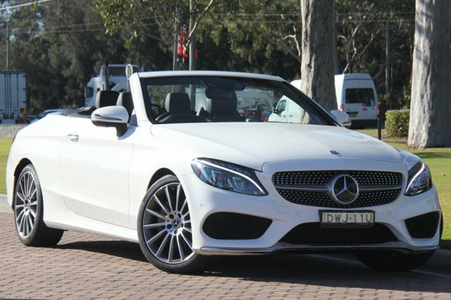 Discounted Used Mercedes-Benz C300 9G-TRONIC, Southport, 2017 Mercedes-Benz C300 9G-TRONIC Cabriolet