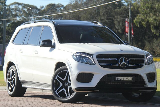 Discounted Used Mercedes-Benz GLS350 d 9G-TRONIC 4MATIC Sport, Warwick Farm, 2017 Mercedes-Benz GLS350 d 9G-TRONIC 4MATIC Sport SUV