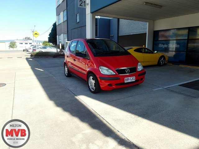 Used Mercedes-Benz A160 Classic, Eagle Farm, 2002 Mercedes-Benz A160 Classic Hatchback