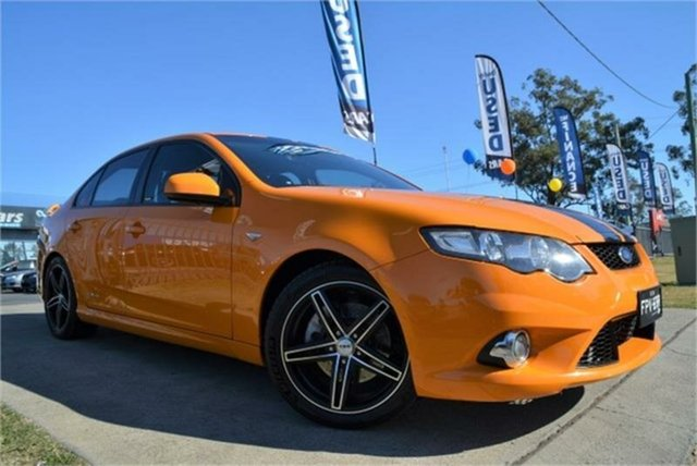 Used Ford Falcon XR6 Turbo, Mulgrave, 2008 Ford Falcon XR6 Turbo Sedan