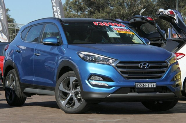 Discounted Demonstrator, Demo, Near New Hyundai Tucson Highlander D-CT AWD, Southport, 2017 Hyundai Tucson Highlander D-CT AWD SUV