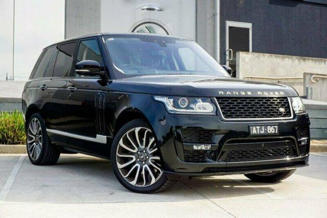 Demonstrator, Demo, Near New Land Rover Range Rover SDV8 Vogue SE, Geelong, 2017 Land Rover Range Rover SDV8 Vogue SE Wagon