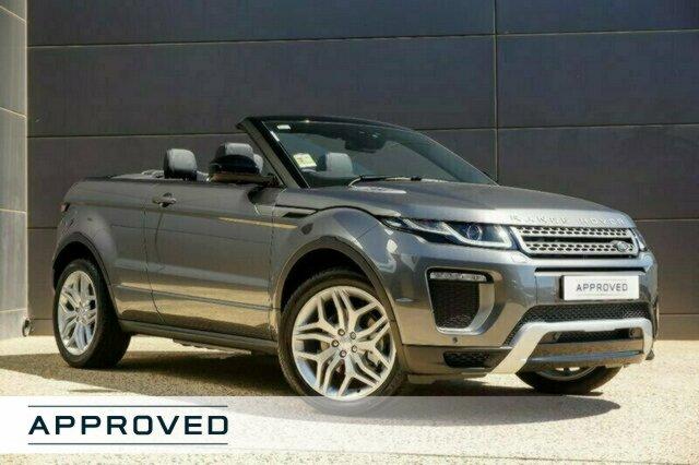 Demonstrator, Demo, Near New Land Rover Range Rover Evoque SI4 SE Dynamic, Geelong, 2017 Land Rover Range Rover Evoque SI4 SE Dynamic Convertible