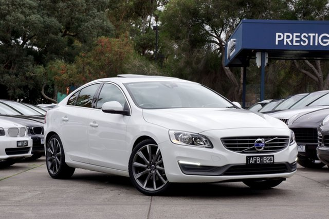 Used Volvo S60 T4 Adap Geartronic Kinetic, Balwyn, 2015 Volvo S60 T4 Adap Geartronic Kinetic Sedan