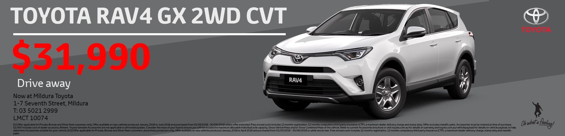 Mildura Toyota | Rav4