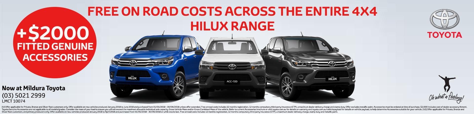 Mildura Toyota | Hilux