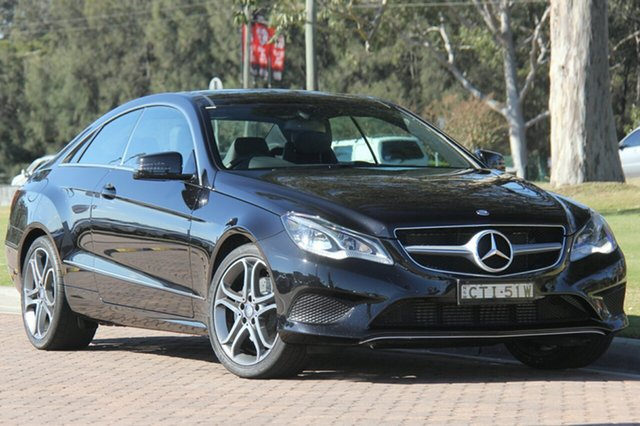Discounted Used Mercedes-Benz E200 7G-Tronic +, Warwick Farm, 2013 Mercedes-Benz E200 7G-Tronic + Coupe