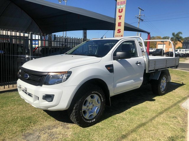 Used Ford Ranger XL 2.2 (4x4), Toowoomba, 2013 Ford Ranger XL 2.2 (4x4) Cab Chassis