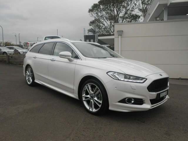 Used Ford Mondeo Titanium PwrShift, Nowra, 2017 Ford Mondeo Titanium PwrShift Wagon