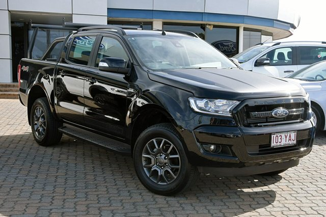 Discounted Demonstrator, Demo, Near New Ford Ranger FX4 Double Cab, Southport, 2018 Ford Ranger FX4 Double Cab Utility