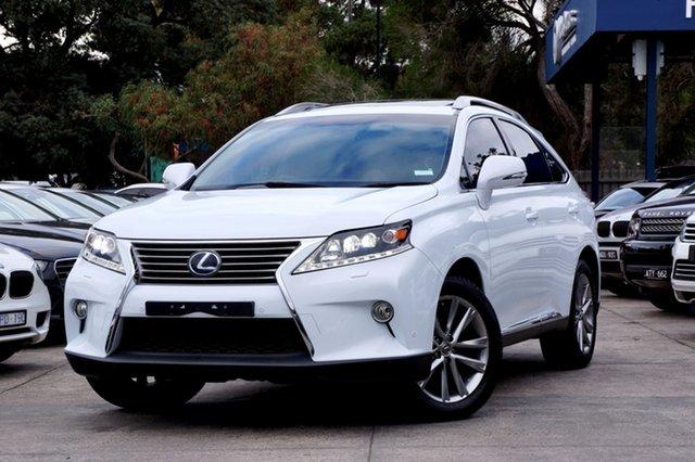 Used Lexus RX450H Sports Luxury, Balwyn, 2012 Lexus RX450H Sports Luxury Wagon