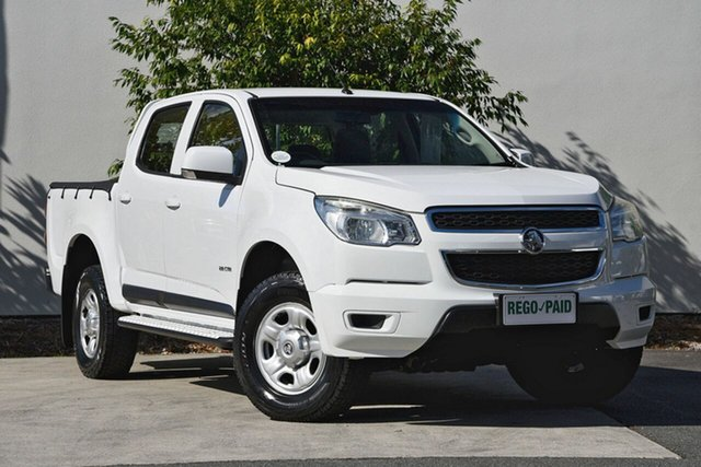 Used Holden Colorado LX Crew Cab, Robina, 2013 Holden Colorado LX Crew Cab RG MY13 Utility
