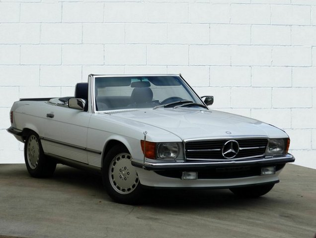 Used Mercedes-Benz 560SL, Moorooka, 1988 Mercedes-Benz 560SL Convertible