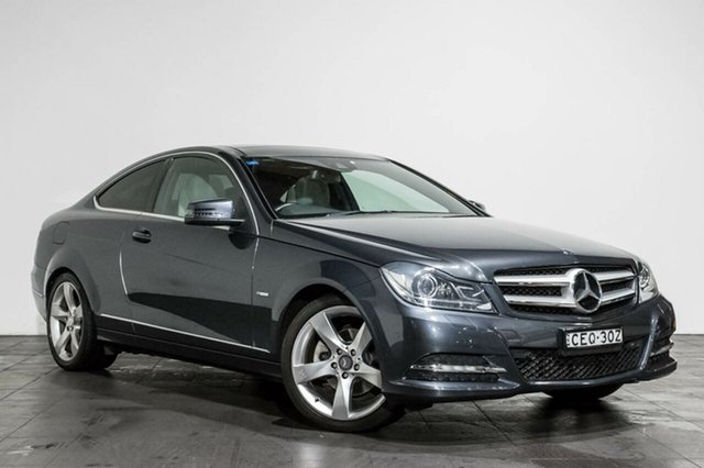 Used Mercedes-Benz C250 BlueEFFICIENCY 7G-Tronic +, Rozelle, 2012 Mercedes-Benz C250 BlueEFFICIENCY 7G-Tronic + Coupe