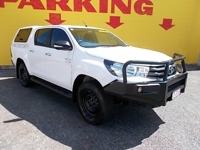 Used Toyota Hilux SR Double Cab, Winnellie, 2016 Toyota Hilux SR Double Cab Utility