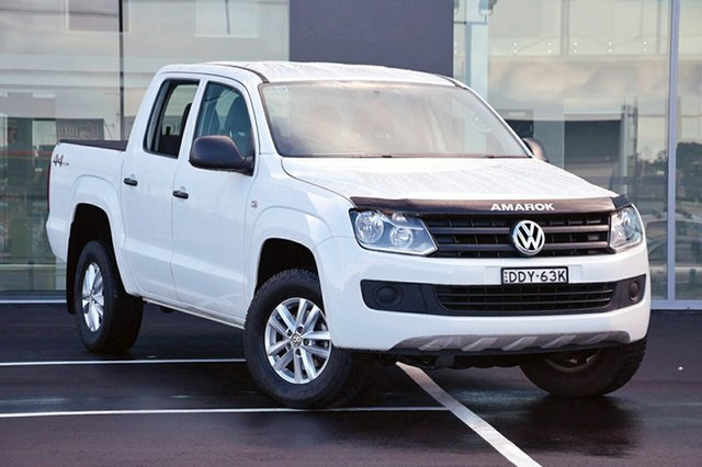 Used Volkswagen Amarok TDI420 4MOTION Perm Core, Southport, 2015 Volkswagen Amarok TDI420 4MOTION Perm Core Utility