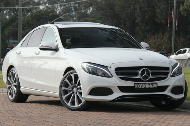 Discounted Used Mercedes-Benz C250 7G-Tronic +, Warwick Farm, 2016 Mercedes-Benz C250 7G-Tronic + Sedan