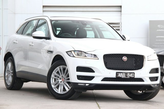 Discounted Demonstrator, Demo, Near New Jaguar F-PACE 30d AWD Prestige, Gardenvale, 2017 Jaguar F-PACE 30d AWD Prestige Wagon