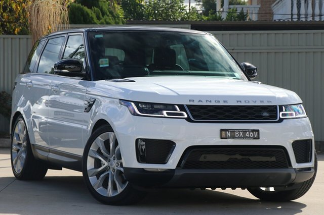 Demonstrator, Demo, Near New Land Rover Range Rover Sport SDV6 CommandShift SE, Blakehurst, 2017 Land Rover Range Rover Sport SDV6 CommandShift SE Wagon