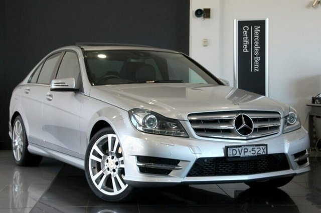 Used Mercedes-Benz C250 Avantgarde 7G-Tronic +, Mosman, 2013 Mercedes-Benz C250 Avantgarde 7G-Tronic + Sedan
